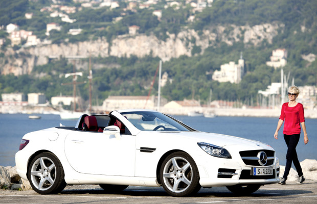 Erstmals Diesel für Mercedes SLK: 204-PS Selbstzünder knapp unter Fünf-Liter-Marke