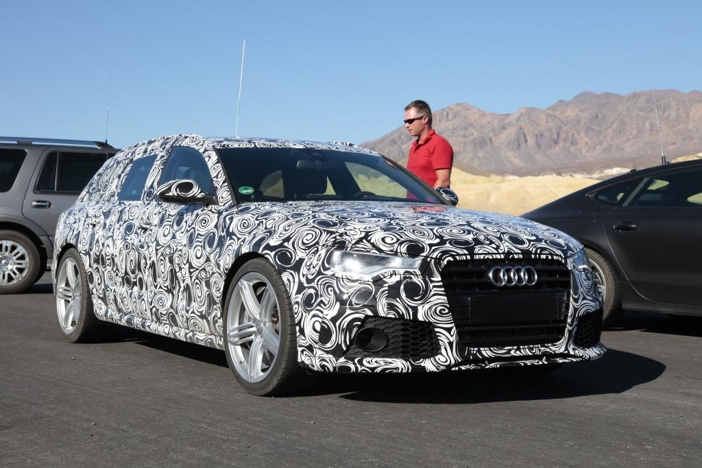 Erwischt: Erlkönig Audi RS6 Avant – Kampf um die Krone