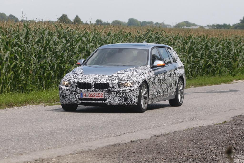Erwischt: Erlkönig BMW 3er Touring