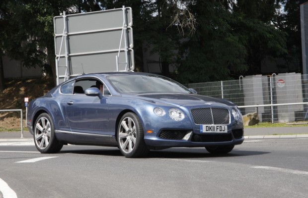 Erwischt Erlkönig Bentley Continental GT Speed: Englische Luxuskarosse mit Power satt
