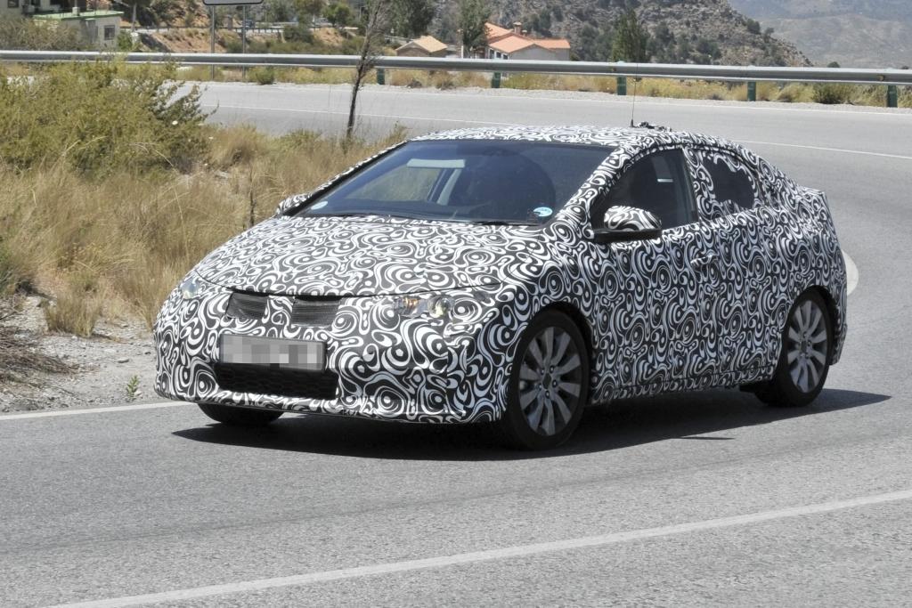 Erwischt: Erlkönig Honda Civic – Japan-Golf in konventionell
