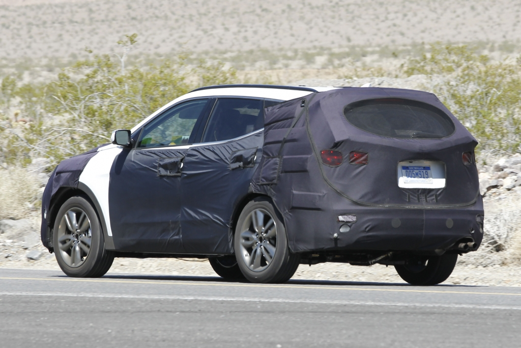 Erwischt: Erlkönig Hyundai Santa Fe