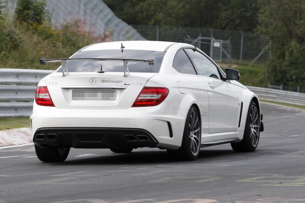 Erwischt: Erlkönig  Mercedes C63 AMG Black Series Aero
