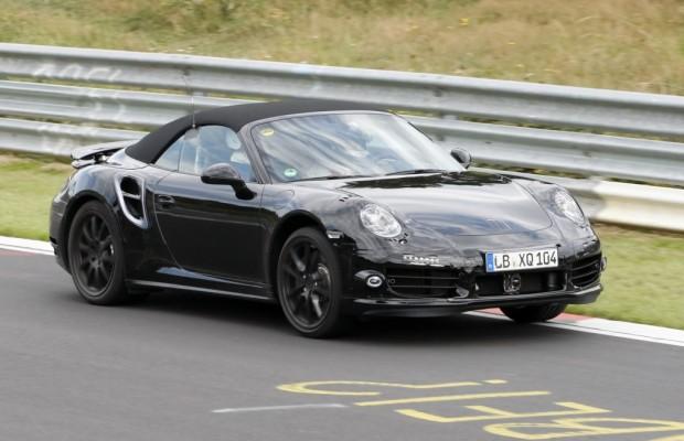 Erwischt: Erlkönig Porshe 911 Turbo Cabrio - Das schnellste Cabrio der Welt