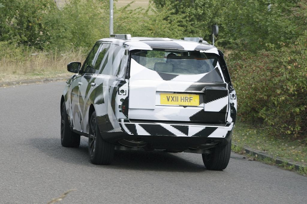 Erwischt: Erlkönig Range Rover – Mehr ist Weniger