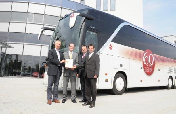 Evobus Werk Neu-Ulm erhält Zertifikat für geprüftes Umweltmanagement