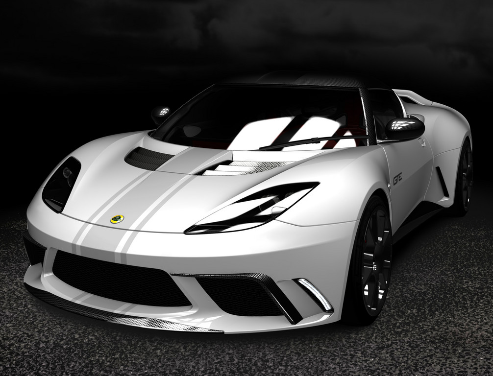 Evora GTE Road Car Concept.