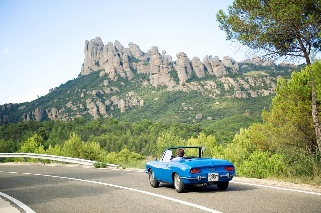 Für Landstraßen in den Bergen rund um Barcelona ist der Spider ideal