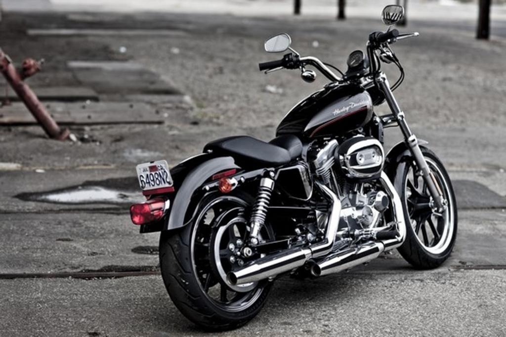 Fahrbericht Harley-Davidson XL883L SuperLow: Günstiges Einsteiger-Eisen