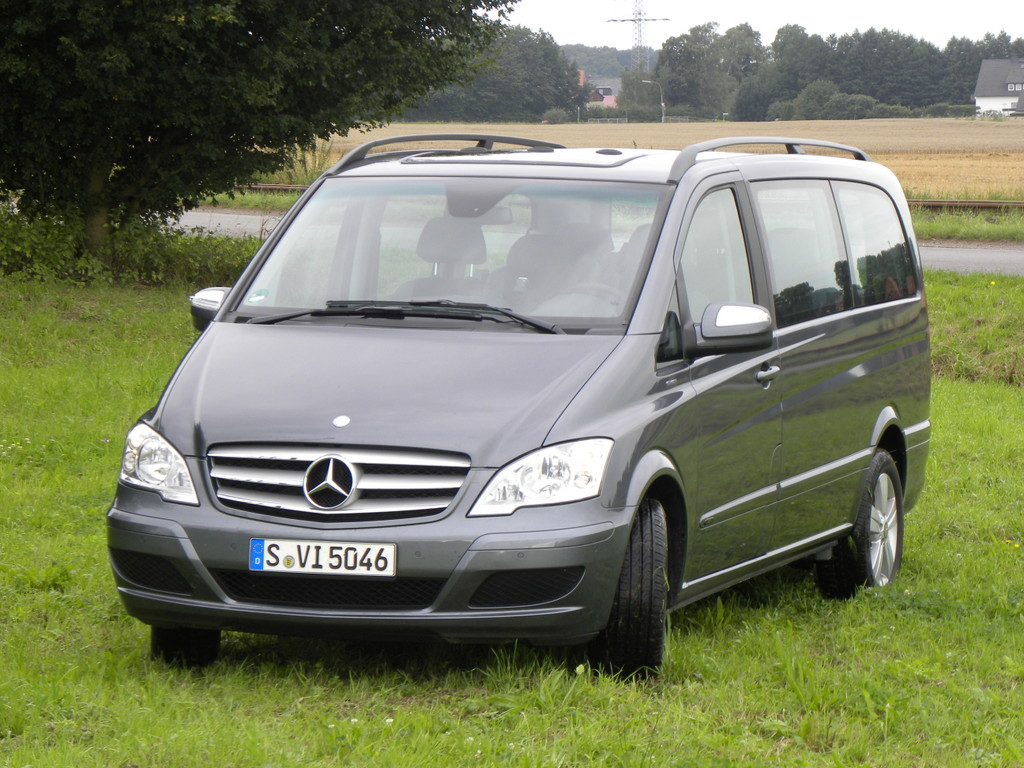 Fahrbericht Mercedes-Benz Viano CDI 2.2 Blue Efficiency Fun: Familienmitglied