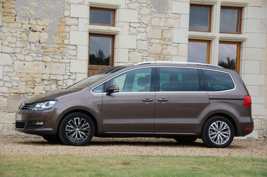 Fahrbericht VW Sharan 1.4 TSI Comfortline BlueMotion - Familienfreundliche Großraumlimousine für Besserverdiener
