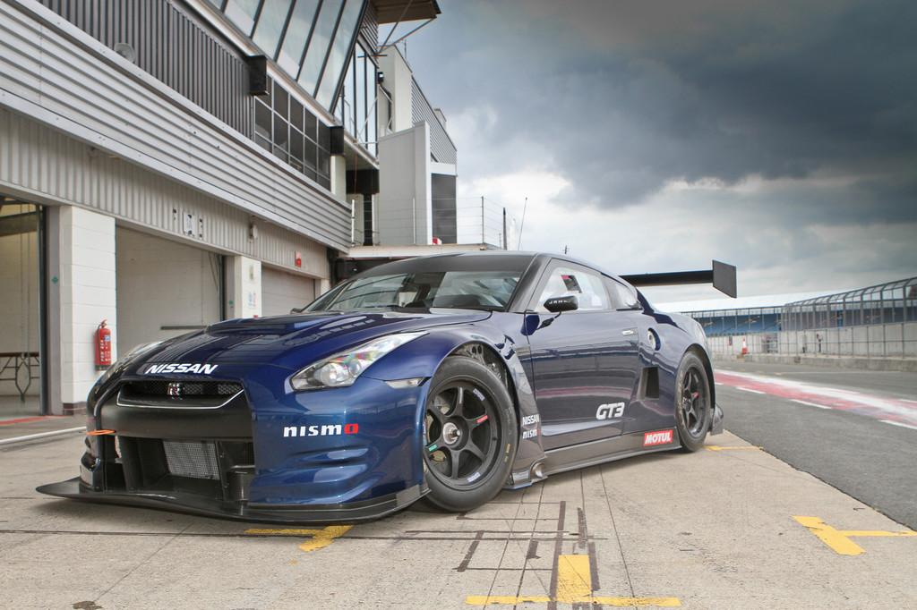 Feuertaufe für den Nissan GT-R GT3