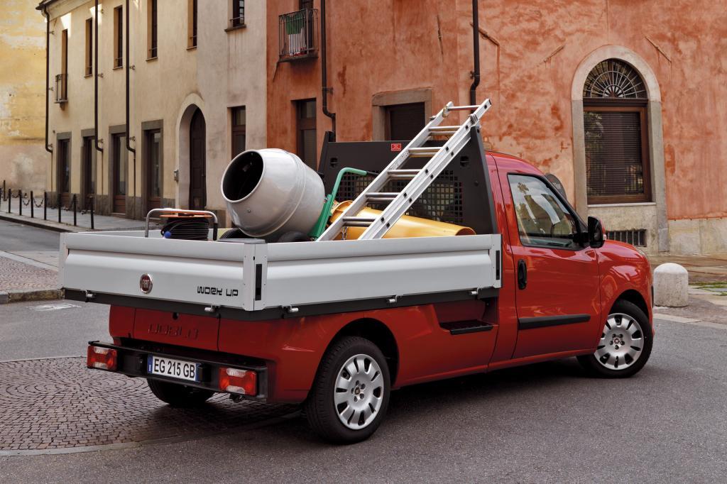 Fiat Doblò Cargo Work Up - Kleine Pritsche