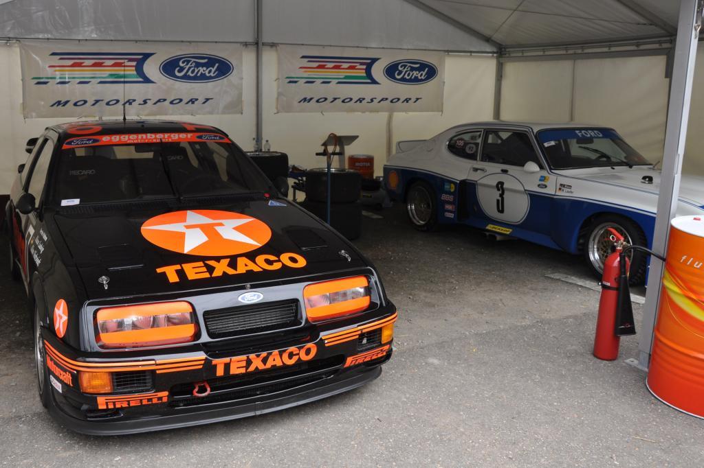 Ford Sierra RS und Capri RS