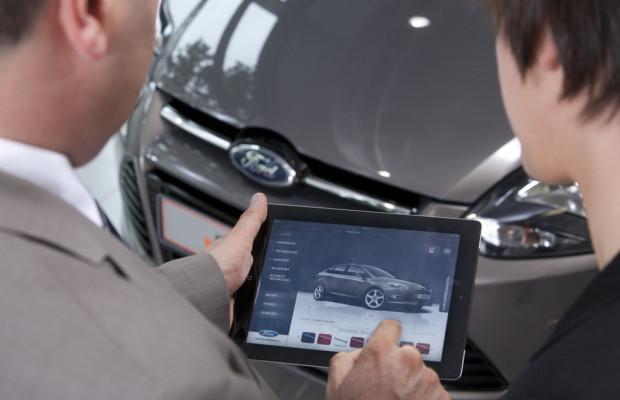 Ford setzt iPad in Verkaufsgesprächen ein