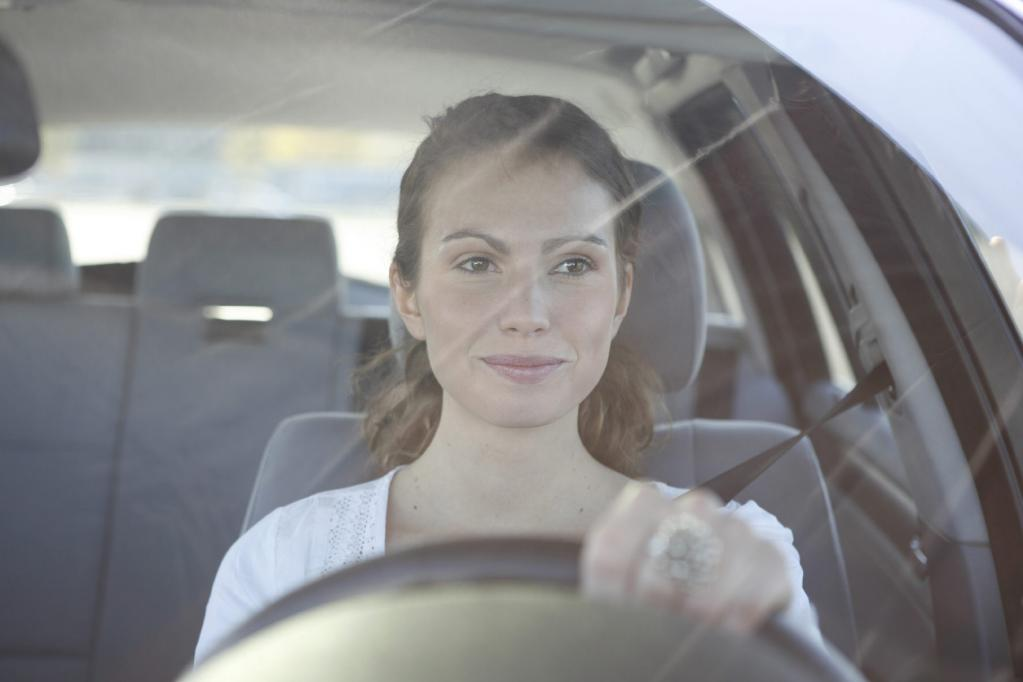 Frauen fahren anders als Männer