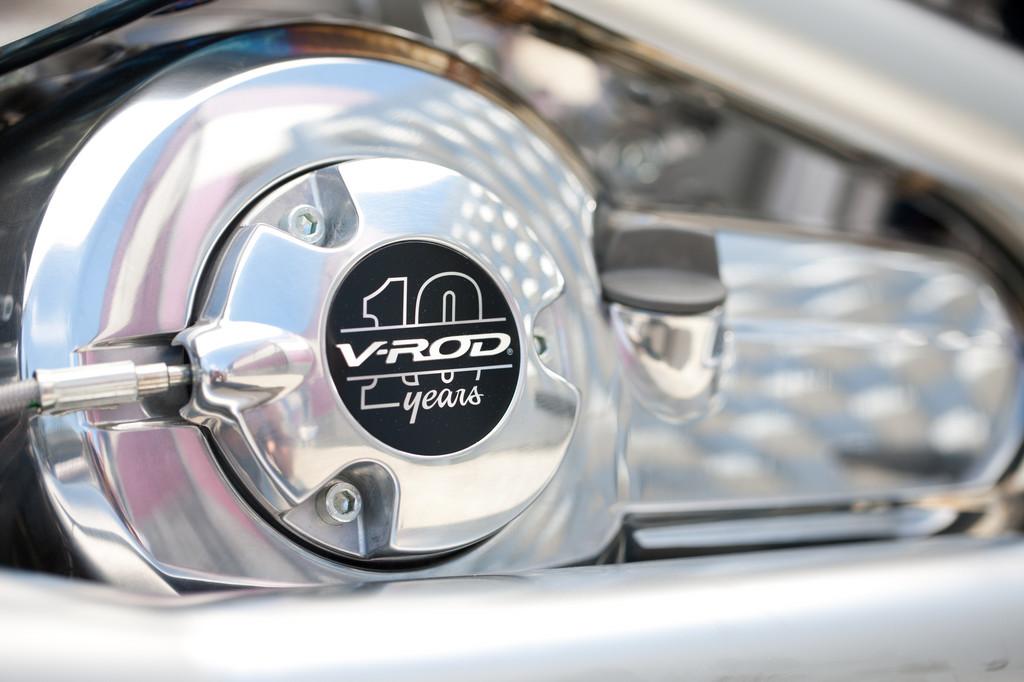 "Harley-Davidson V-Rod ""10th Anniversary Edition""."