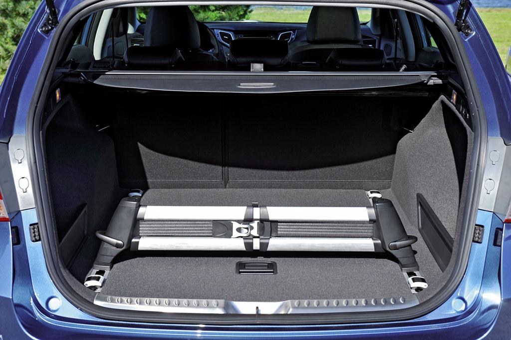 Hyundai i40-Kombi: Das Gepäckabteil fasst bemerkenswerte 553 bis 1719 Liter.