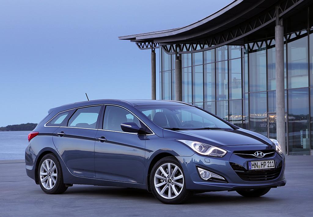 Hyundais neuer i40-Kombi macht schon äußerlich eine gute Figur.
