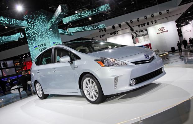 IAA 2011: Europapremiere für Toyota Prius+