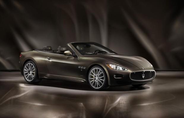 IAA 2011: Maserati GranCabrio Fendi - Schnelle Lederausstellung