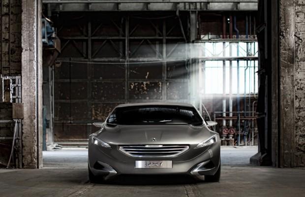 IAA 2011: Peugeots Flügeltürer