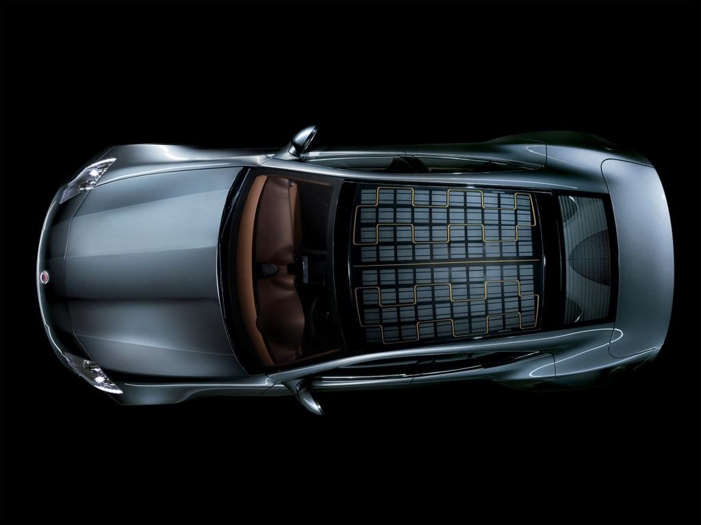 IAA 2011: Solardach für Fisker Hybrid-Sportwagen Karma