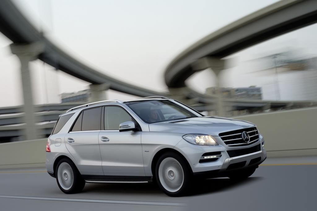 Im November startet die neue Generation der Mercedes M-Klasse