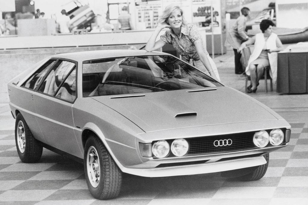 Italdesign baute eine Coupé-Studie auf Basis des Audi 80