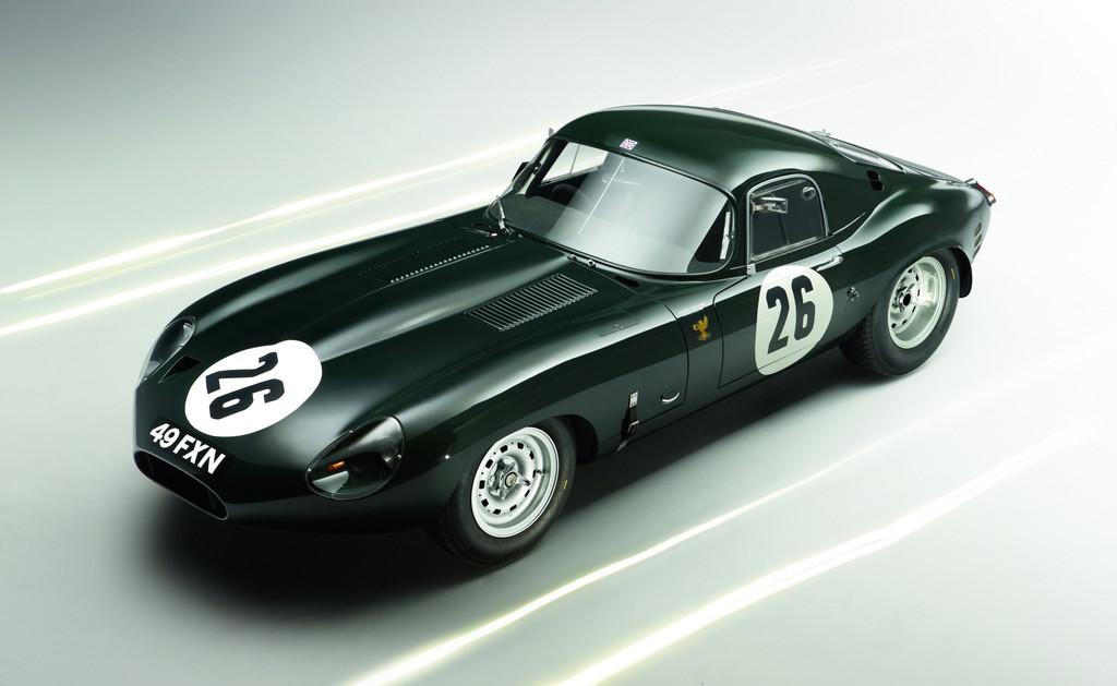 Jaguar E-Type Lightweight (1963).