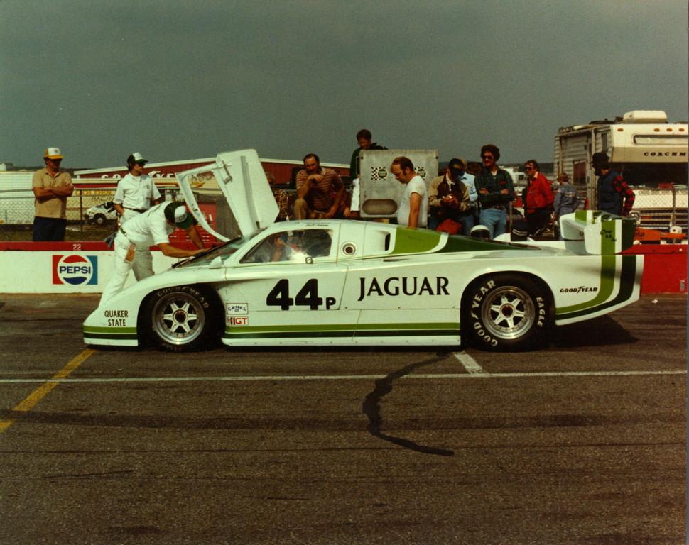 Jaguar XJR-5 (1984).