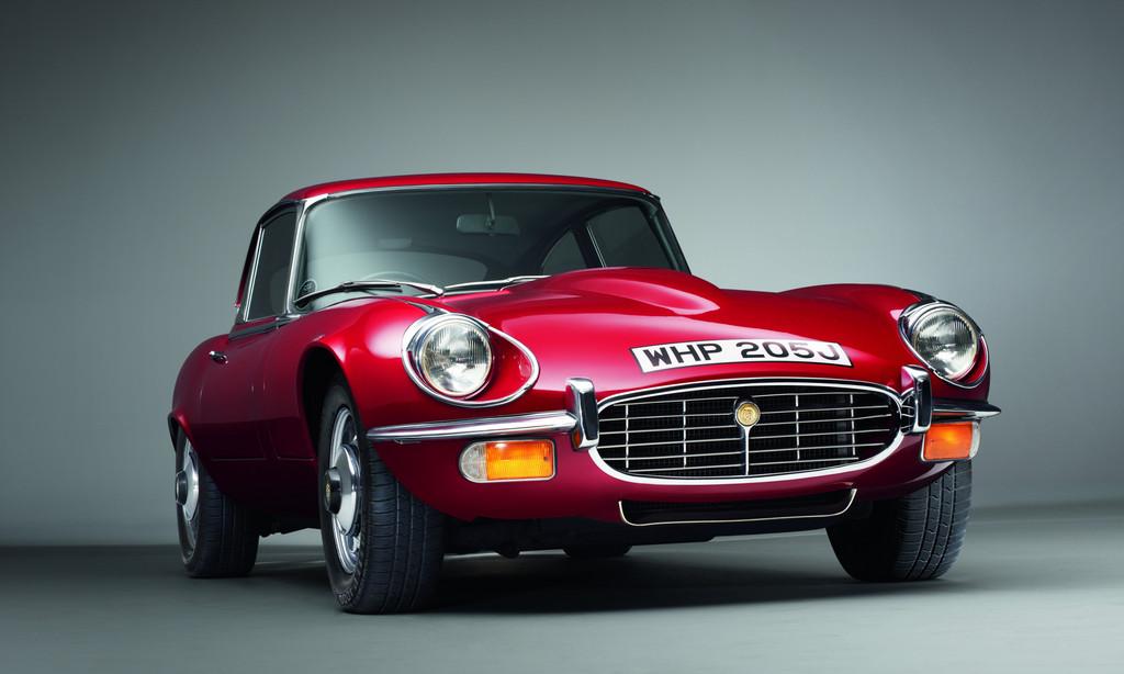 Jaguar feiert beim Oldtimer-Grand-Prix den E-Type
