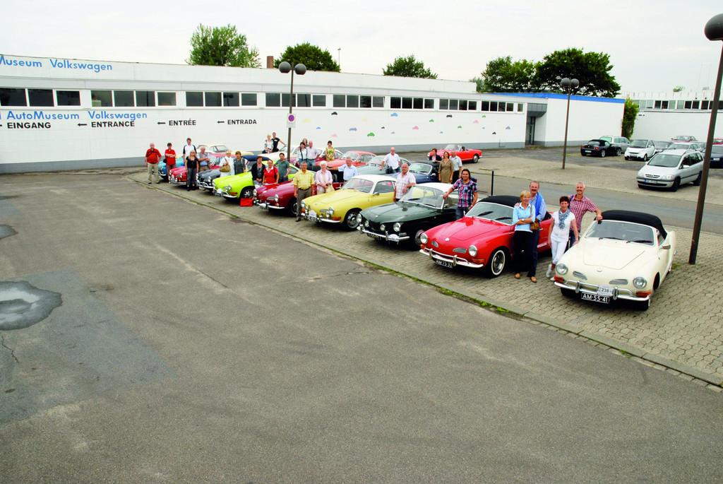 Karmann-Ghia-Club Niederlande zu Gast im VW-Museum