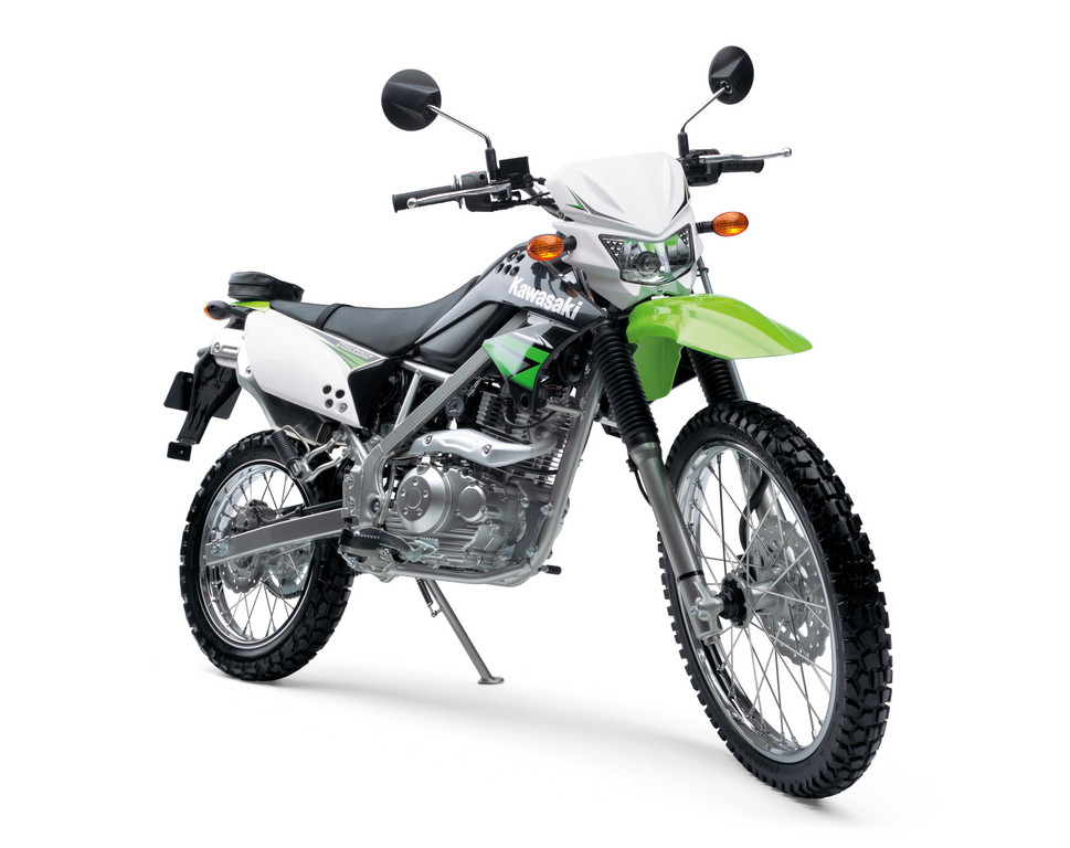 Kawasaki KLX 125.