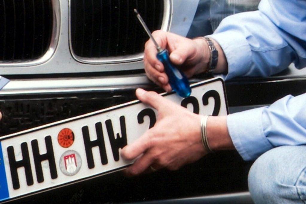 Kennzeichen-Klau stellt Polizei vor Rätsel