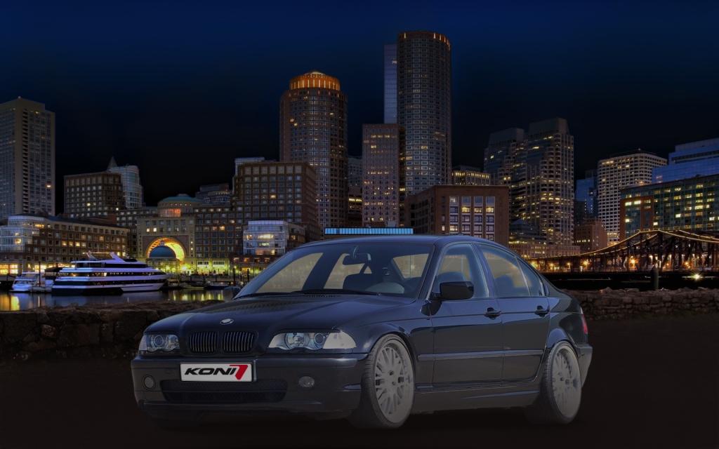 Koni Sport-Gewindefahrwerk Coil-Over für BMW und Audi