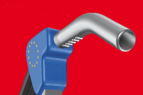 Kraftstoffpreise in Europa driften auseinander