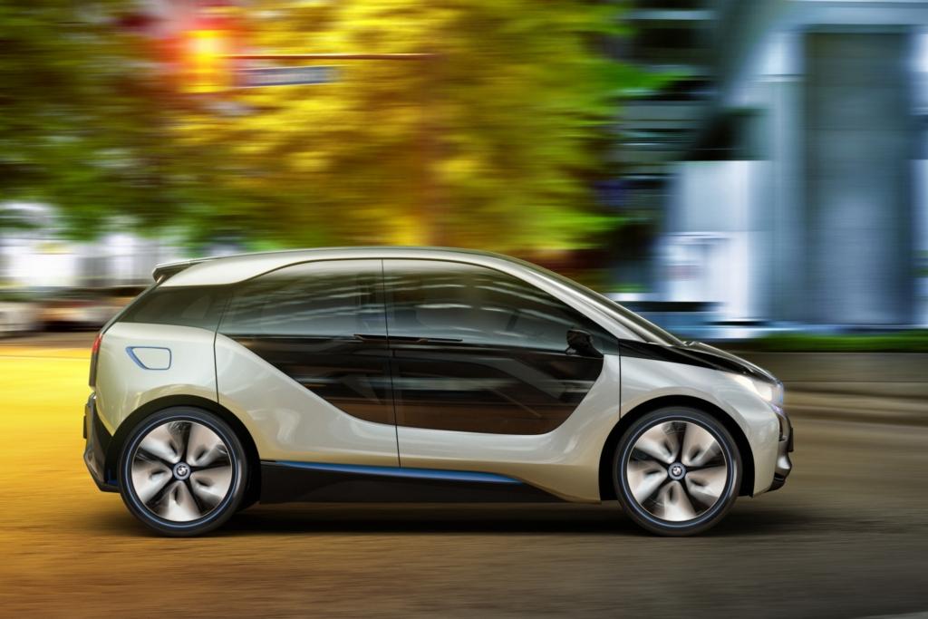 Münchner Zukunft: Das E-Auto i3.