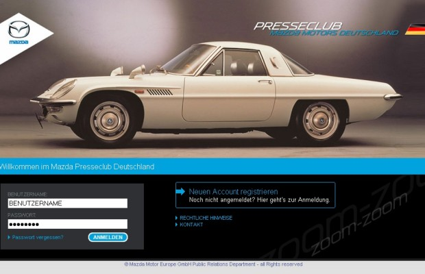 Mazda richtet unmfangreiches Presse-Archiv ein