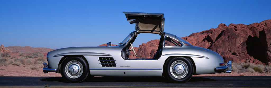 Mercedes-Benz 300 SL (1954).
