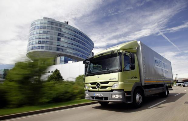 Mercedes-Benz Atego Blue Tec Hybrid ausgezeichnet