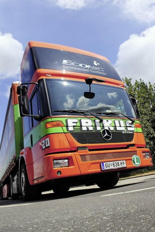 Mercedes-Benz Econic NGT.