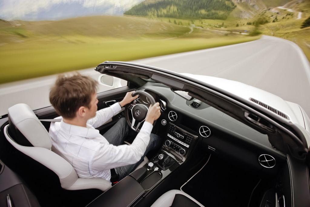 Mercedes-Benz SLK 55 AMG.