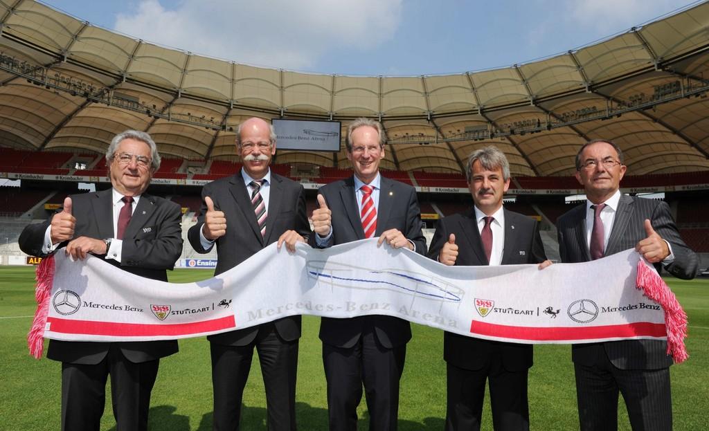 Mercedes-Benz bleibt exklusiver Automobilpartner des VfB Stuttgart