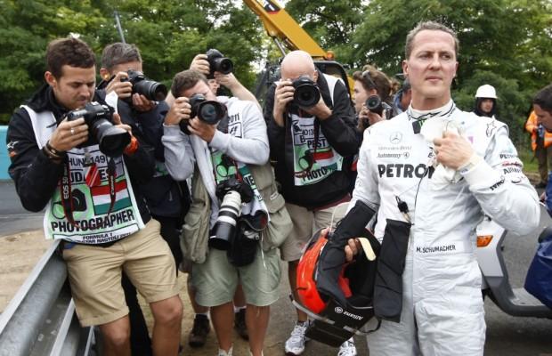 Mercedes-Benz lädt zum Familientag mit Michael Schumacher und Nico Rosberg ein