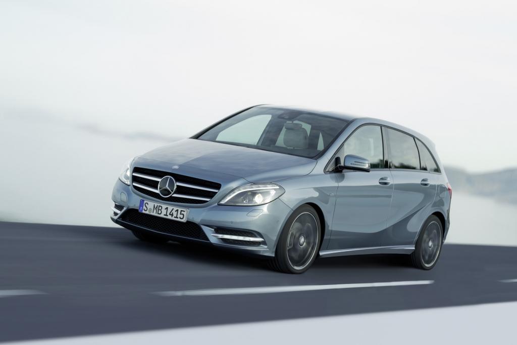 Mercedes setzt große Hoffnungen in die B-Klasse