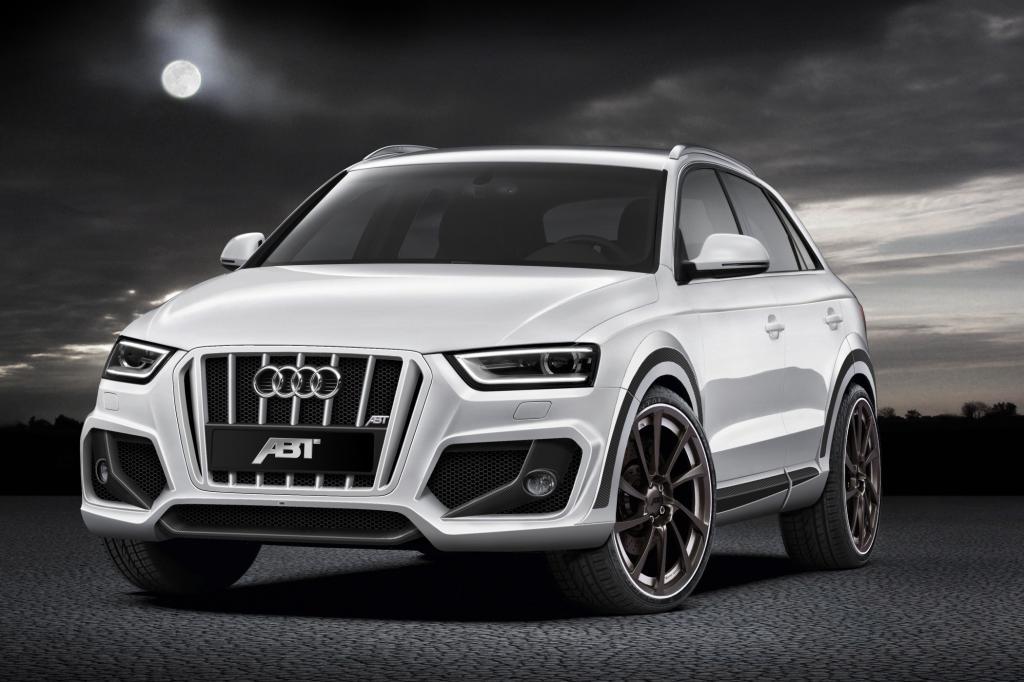 Mit geweiteten Nüstern tritt der Audi Q3 von Abt an