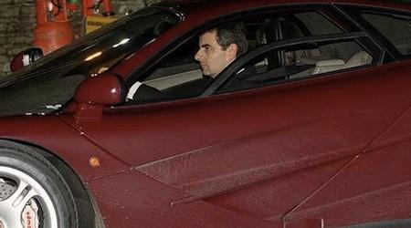 Mr. Bean (aka Rowan Atkinson) schrottet seinen McLaren F1
