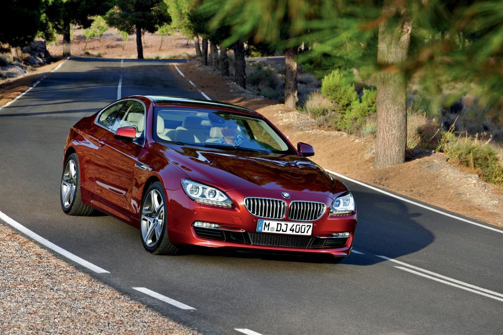 Nach dem Cabrio kommt bei BMW nun das 6er Coupé