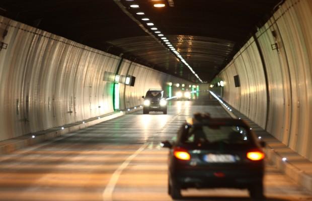 Nachtsperre im San Bernardino-Tunnel